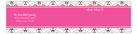 Emory Envelope Wrap Address Label