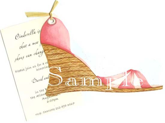 Espadrille Invitation