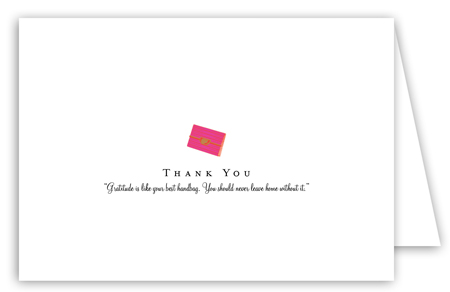 Fabulous Clutch Note Card