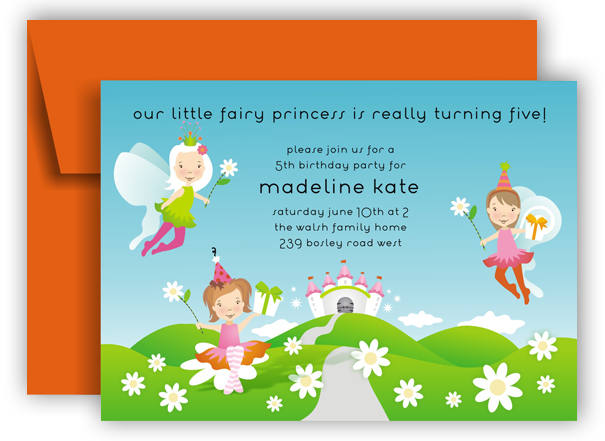 Fairy Friends Invitation
