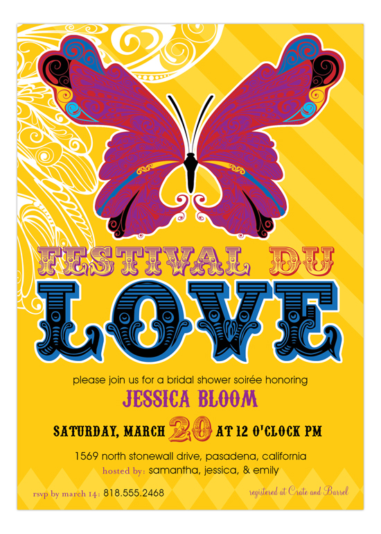 Festival Du Love Invitation
