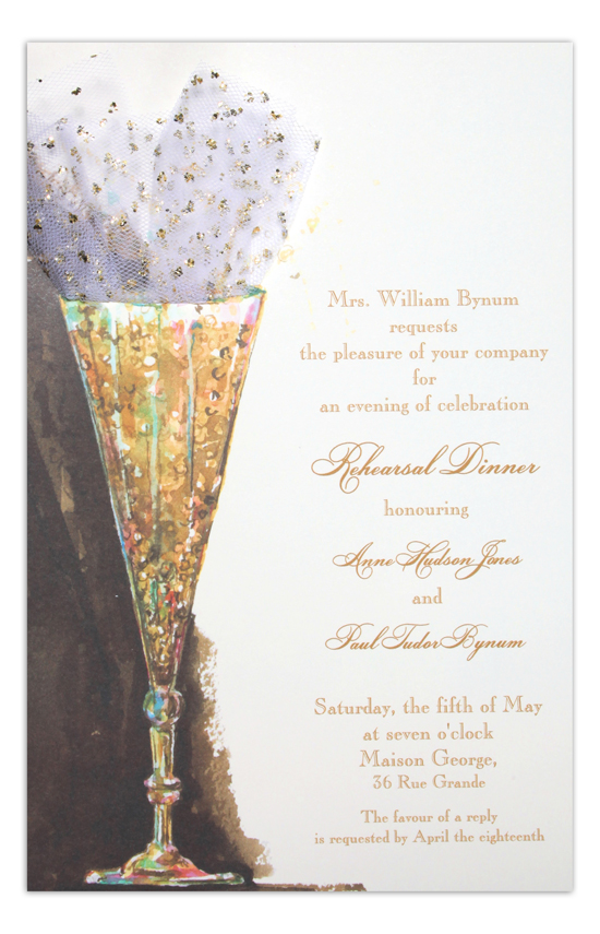 Fizzy Invitation