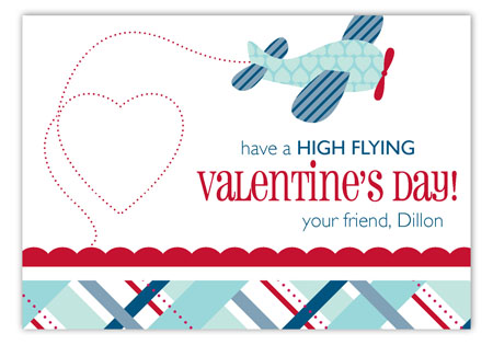 Fly Away With Me Valentine Card