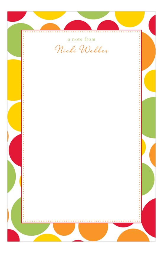 Fruity Notepad