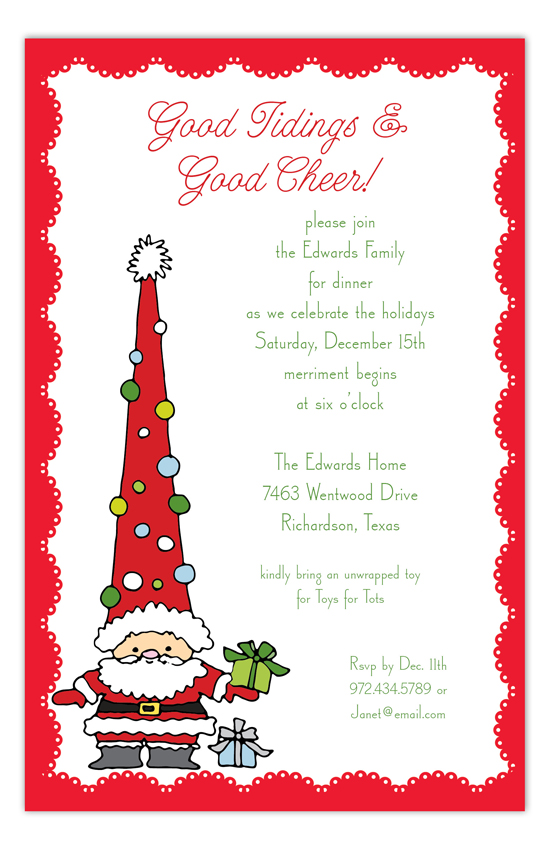 funky-santa-invitation-rb-np58hc1020rb Kids Winter Party Ideas