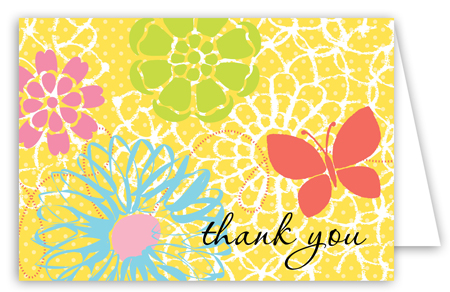 Garden Party Note Card