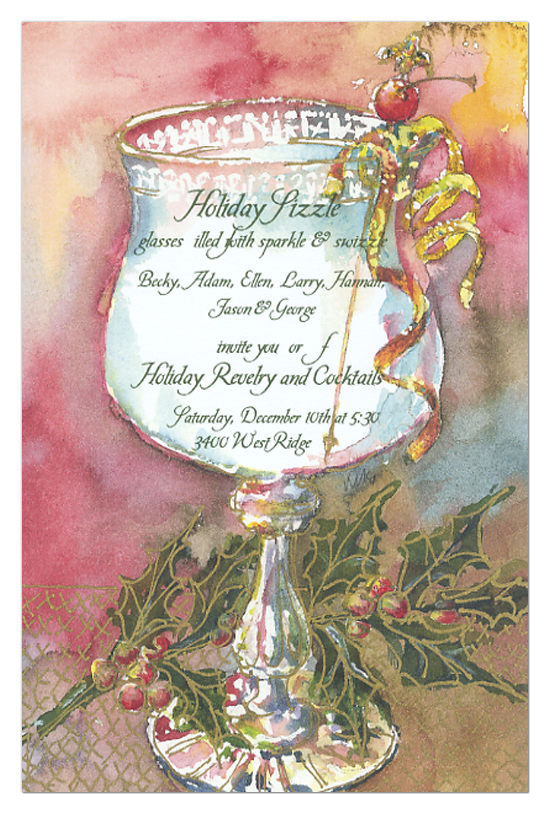 Gaudy Goblet Invitation