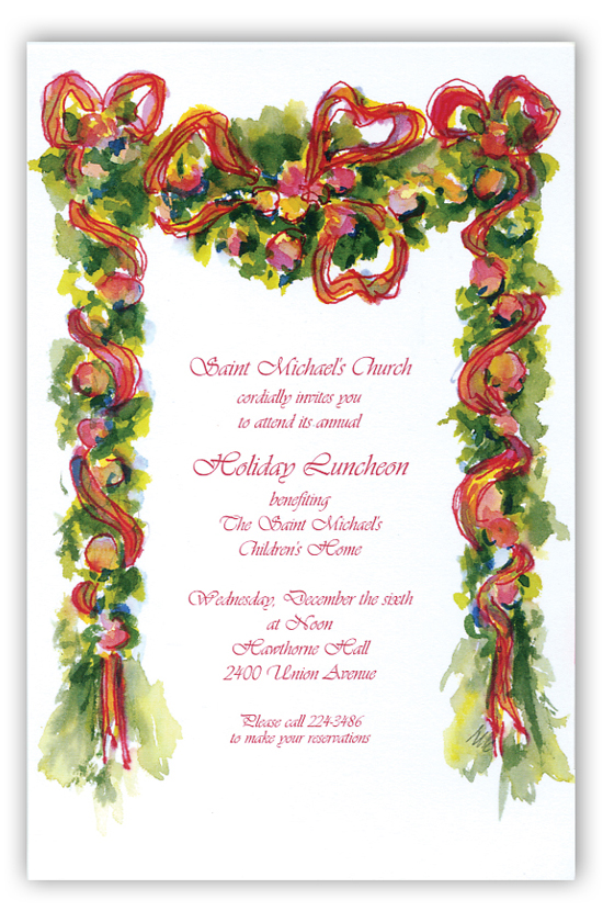 Gay Garland Invitation