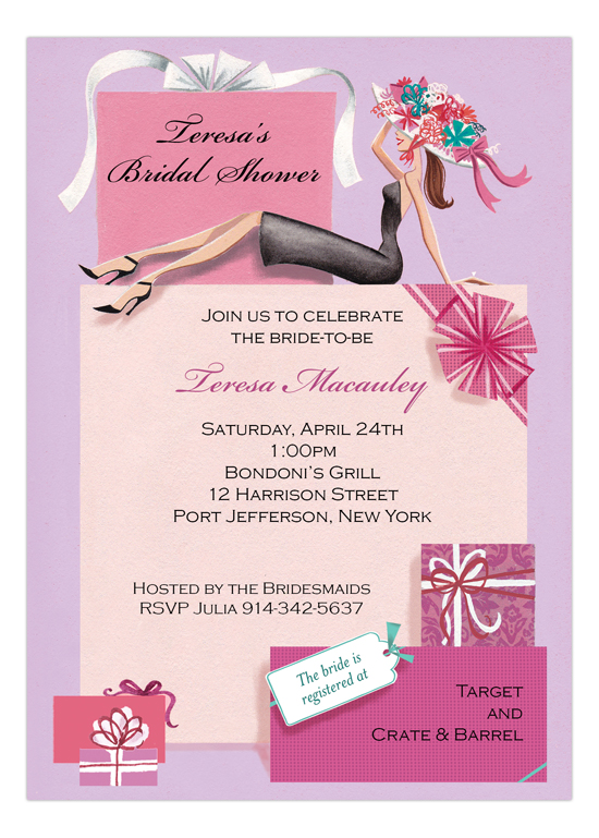 Gifts Galore Bridal Shower Invitations