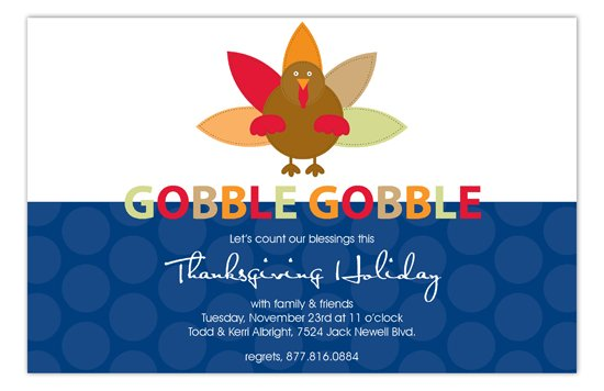 How to properly invite someone to thanksgiving dinner gobble gobble fall party invitation gobble gobble invitation pddd np58fh8010 how to properly invite someone to thanksgiving stopboris Choice Image