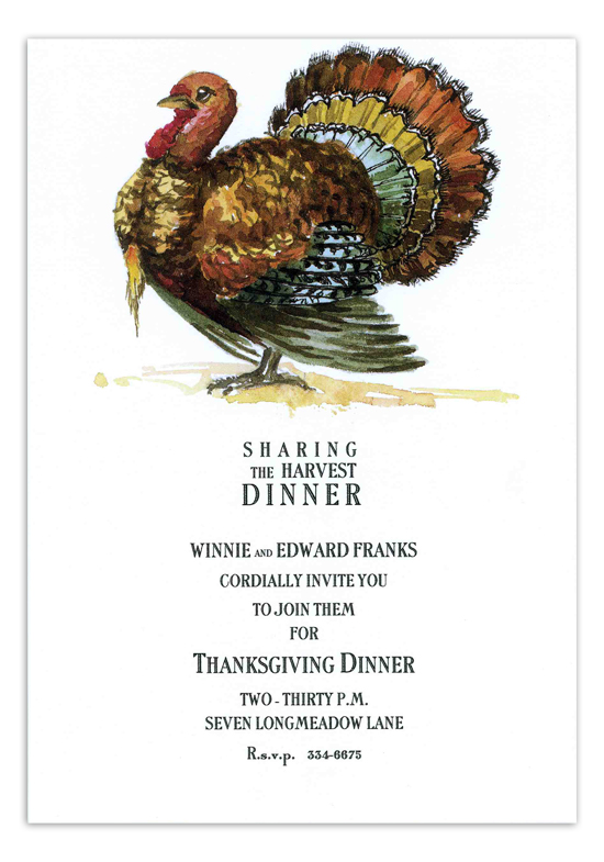 Gobbler Invitation