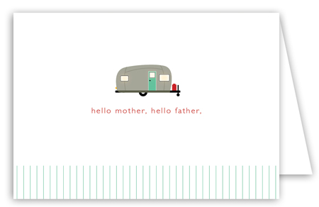 Going Camping Note Card