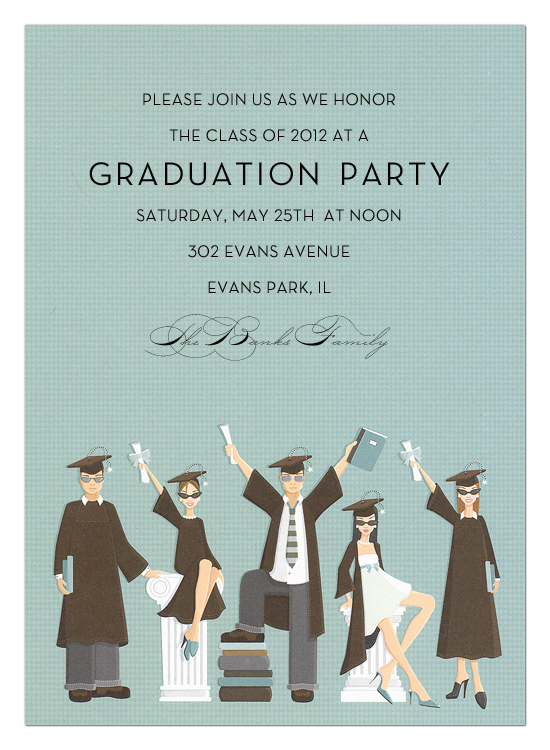 Graduation Group Invitation