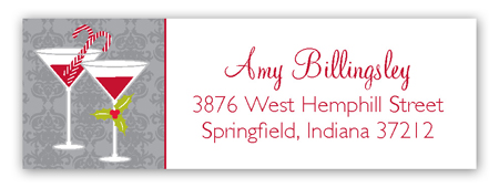grey-holiday-spirits-address-label-pddd-strchc9026 Christmas Address Labels