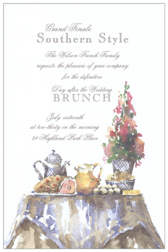 Ham and Eggs Invitation