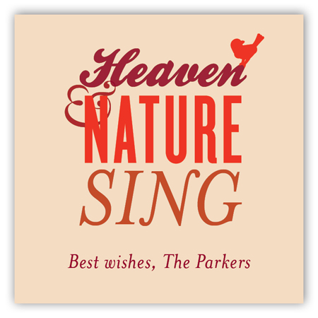 Heaven & Nature Sing Gift Tag