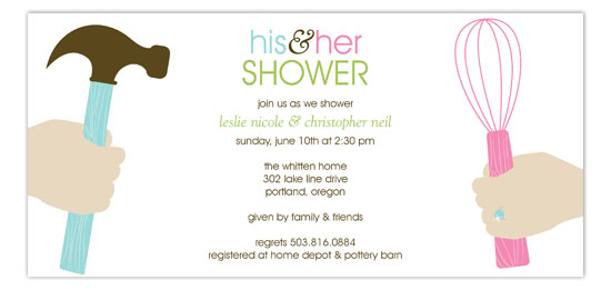 His and Hers Forever Invitation