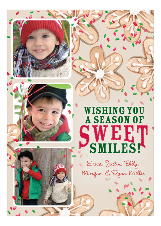 Holiday Cookies Photo Card