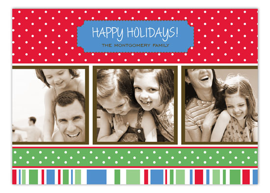 Holiday Style Photo Card