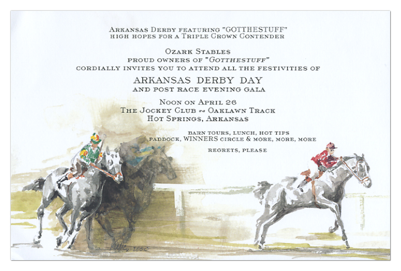 Horse Derby Invitation – Derby Party Invitations