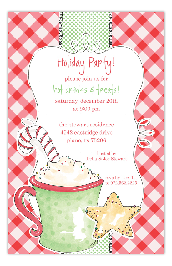 Hot Cocoa Invitation