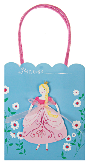 I Am A Princess Favor Bags