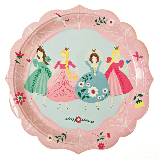 I Am A Princess Large Plate