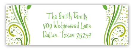 Irish Spirit Address Label
