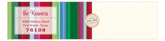 Jolly Bars Envelope Wrap
