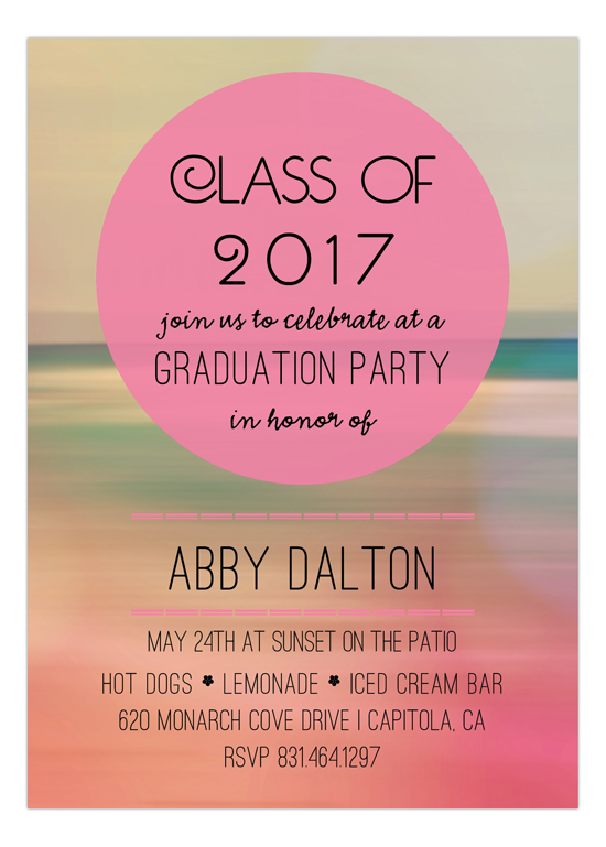Beach Sunset Pool Party Invitations – Invitation Pool Party