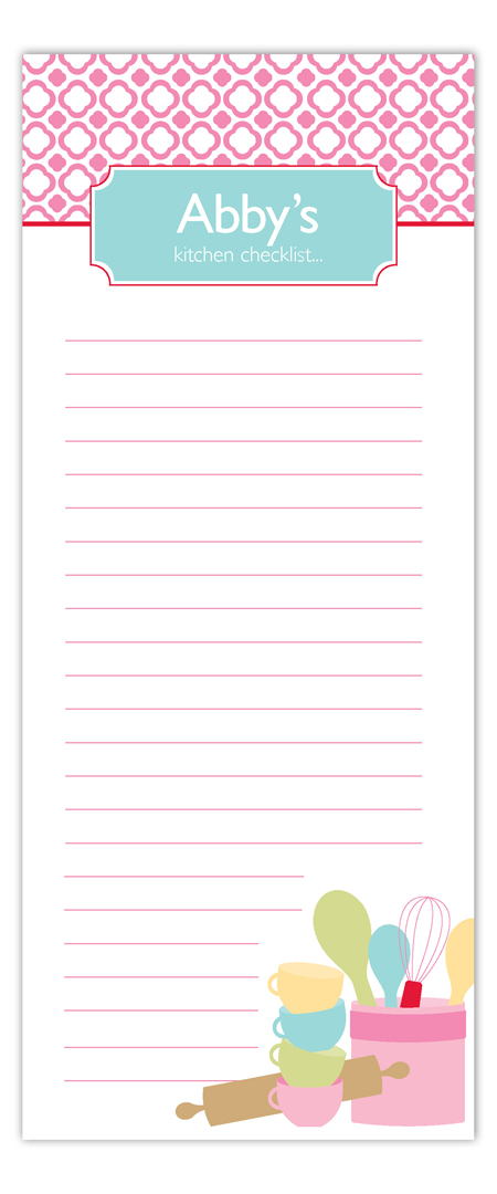 Kitchen Culture Notepad