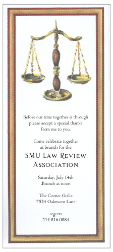 Legal Invitation