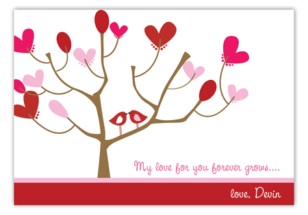 Love Birds Valentine Card