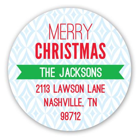 merry-christmas-tree-round-sticker-pcdd-strdhc1381pcdd Christmas Address Labels