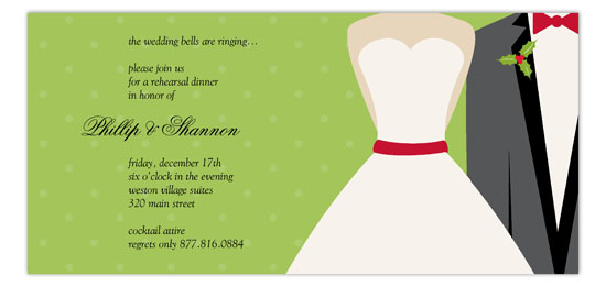 Merry Matrimony Invitation