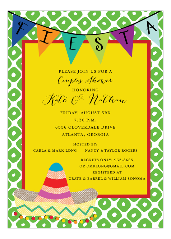 Mexican Fiesta Invitation
