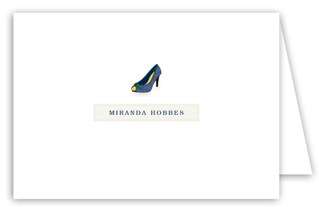 Miranda High Heel Note Card