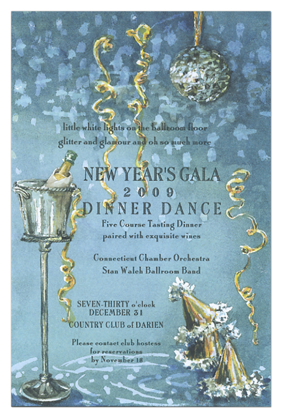 Mirrored Ball Invitation