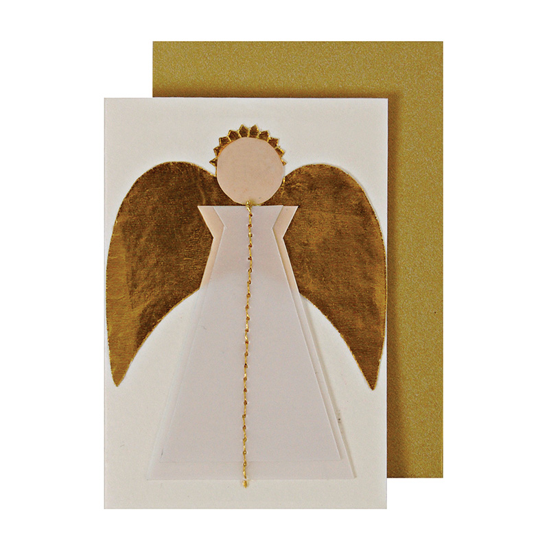 Stitched Angel Enclosure Cards