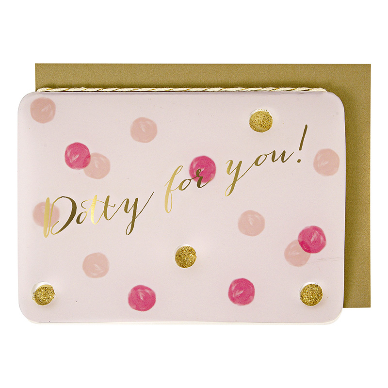 Dotty For You Valentines Day Card
