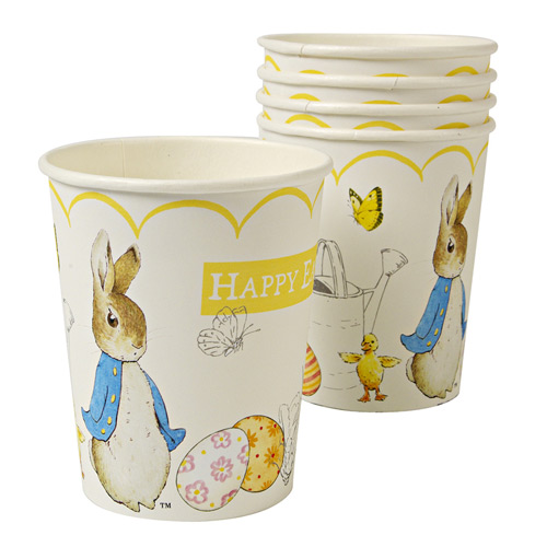 Easter with Beatrix Potter Cups