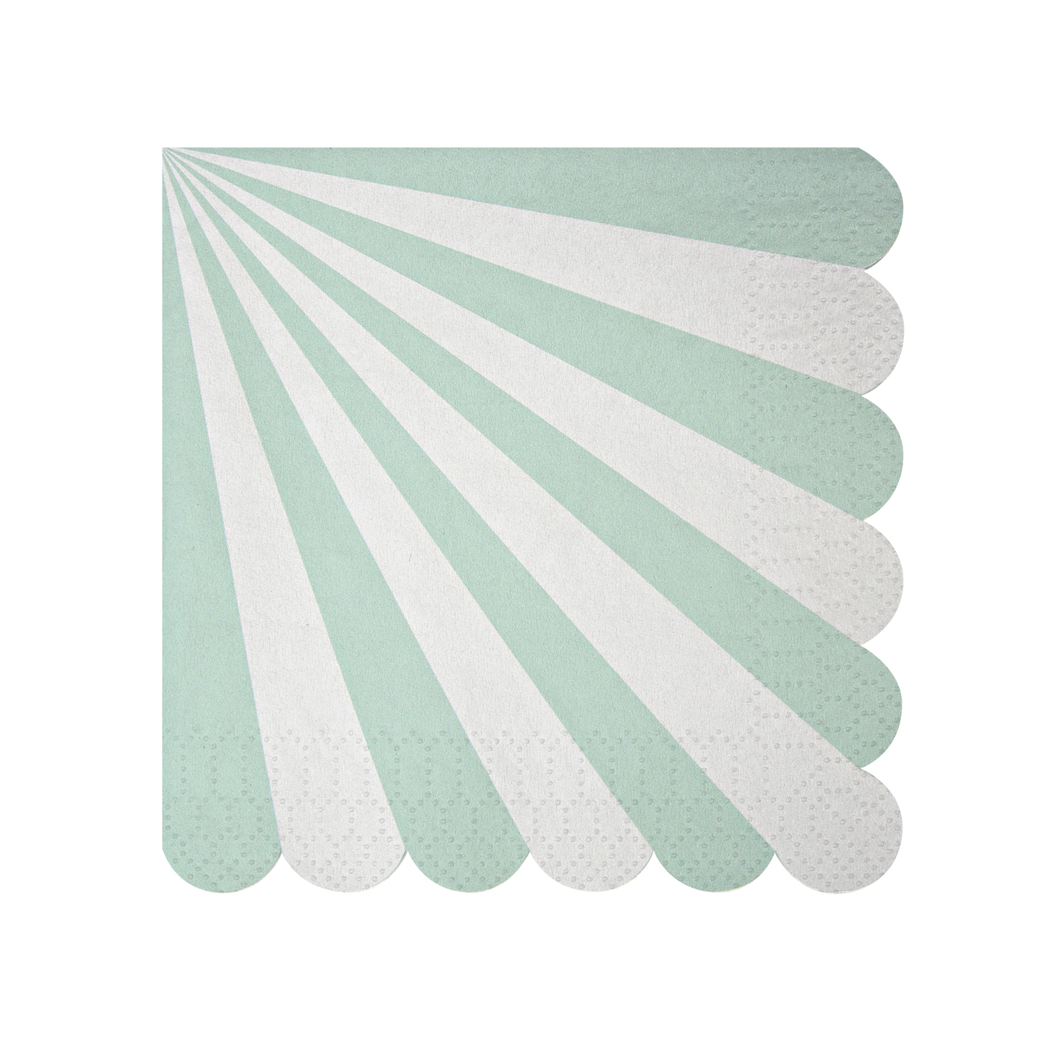 Toot Sweet Aqua Stripe Small Napkin