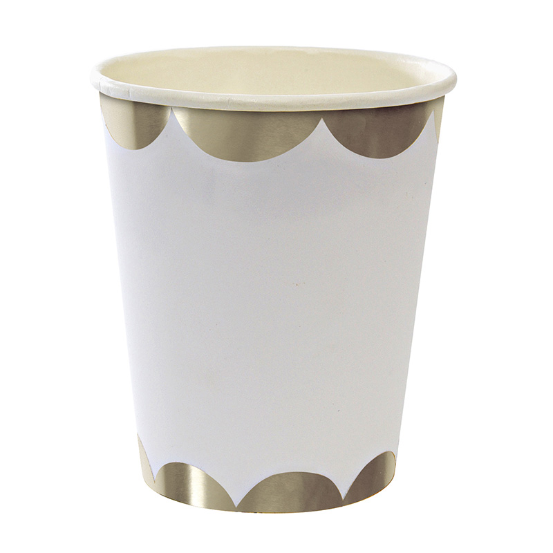Toot Sweet Silver Party Cups