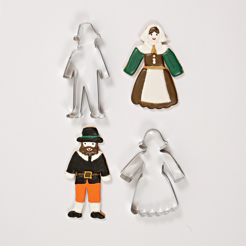 Pilgrim Thanksgiving Cookie Cutters