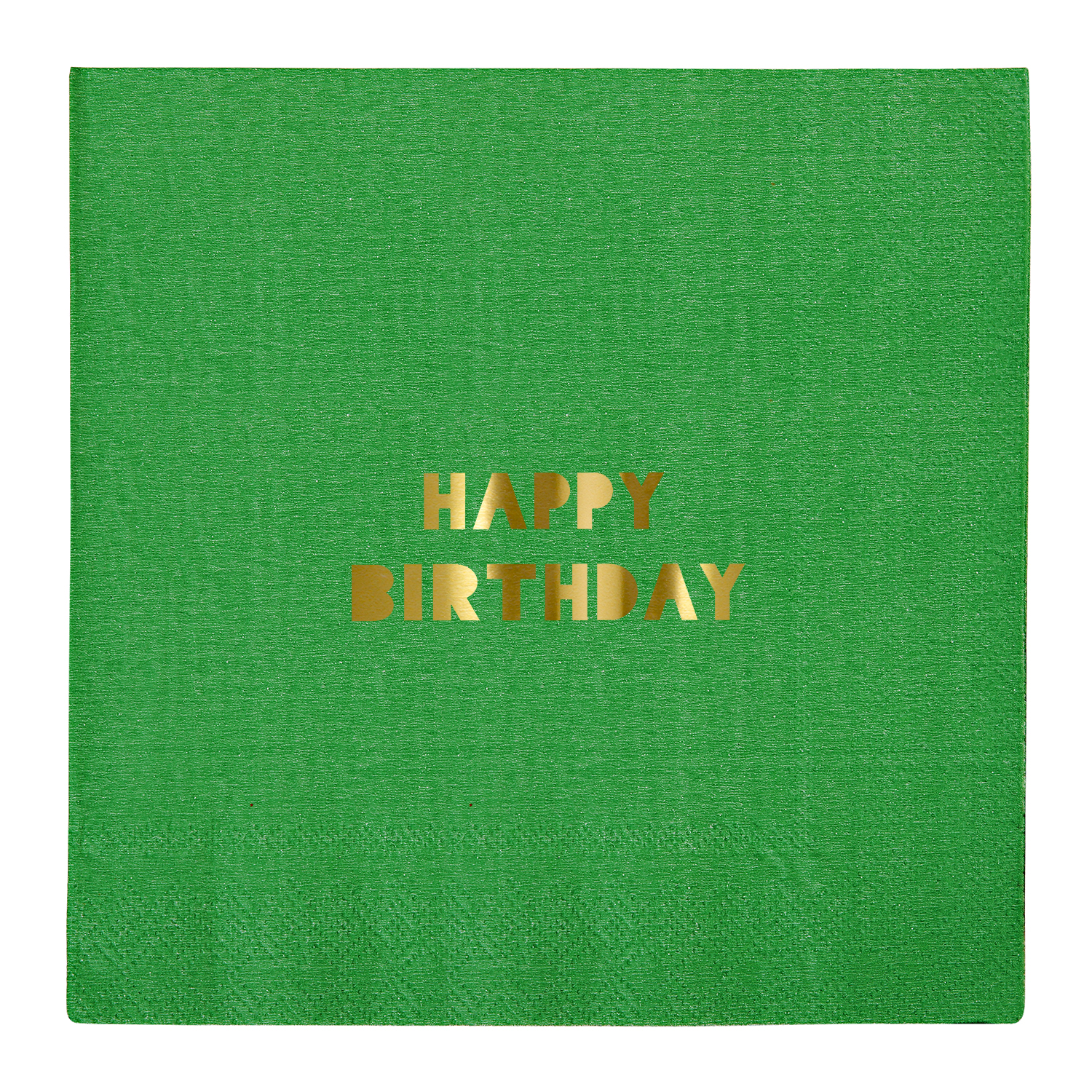 Happy Birthday Large Napkin