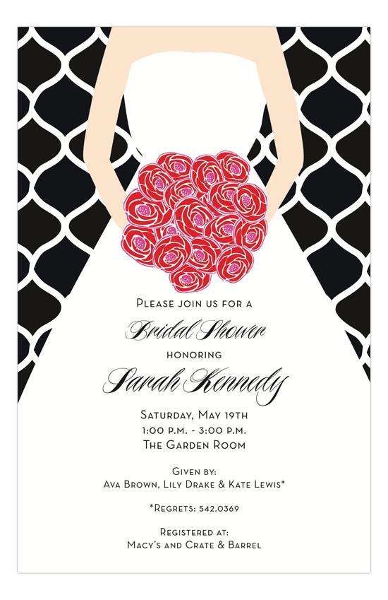 Mod Bride Invitation