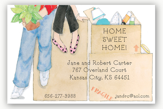 Moving Housewarming Party Invite
