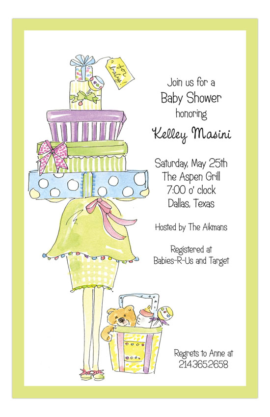 Multi Momma Package Invitation