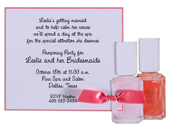 Nail Polish Invitation