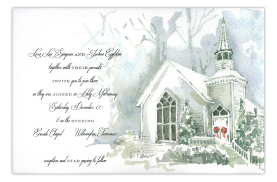 Christmas Eve Holiday Party Invitation